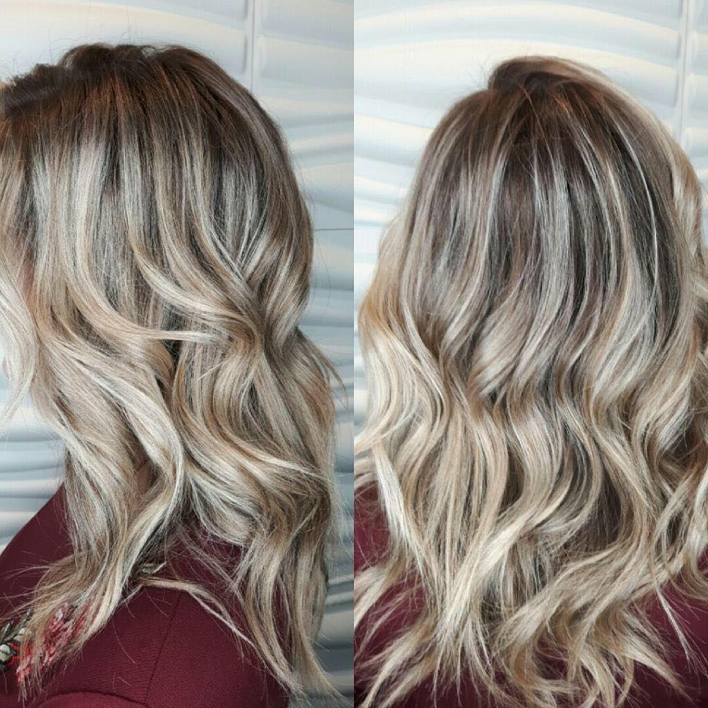 Dimensional blonde done by Ashlyn. blonde redken