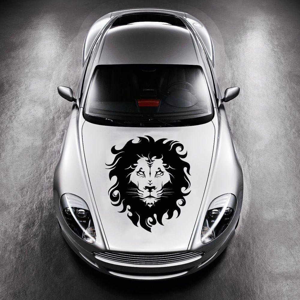 Car hood vinyl sticker decals graphics design animal