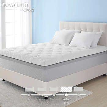 Novaform 14 Comfort Grande Queen Gel Memory Foam Mattress MY