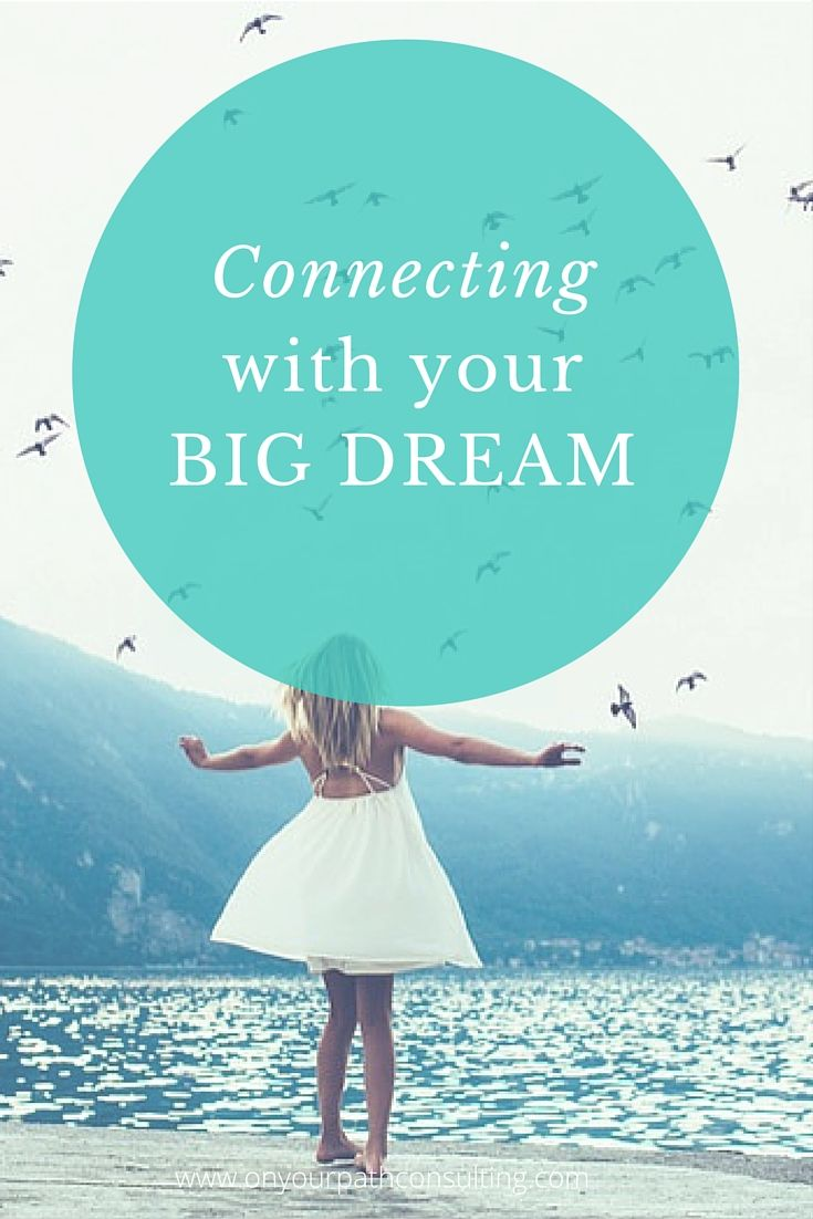 Connecting with your big dream will not only give you new energy but can stimulate your thinking to bring in new ideas and action. Learn how connecting with my big dream gave me inspiration and courage to create my first video newsletter >> #coaching #inspiration