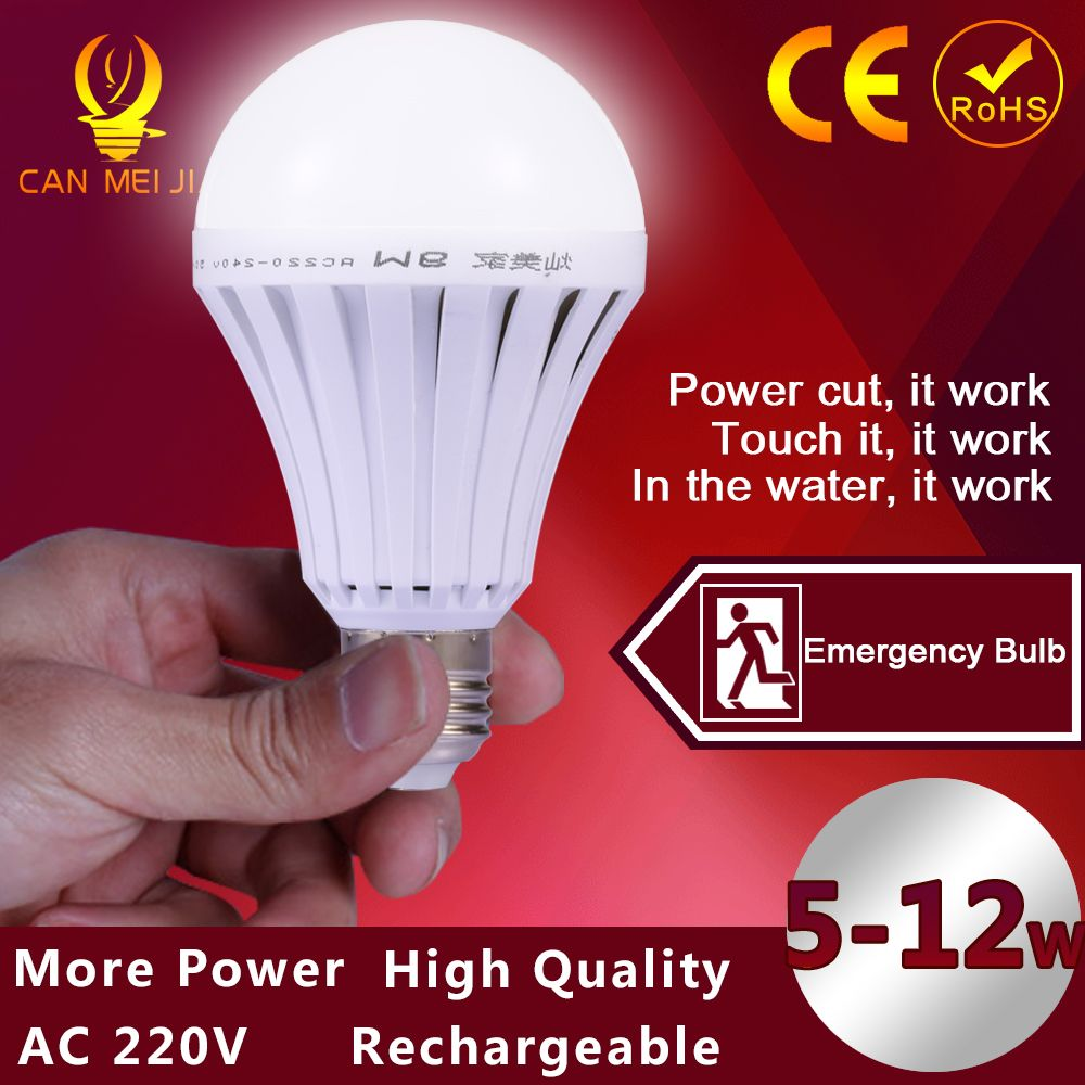 Led smart bulb e27 7w 9w 12w led emergency light rechargeable led smart bulb led emergency light rechargeable battery lighting lamp for outdoor lighting bombillas flashlight mozeypictures Image collections