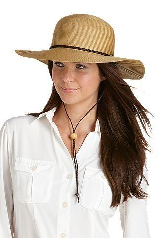 54b056edbc7a40 SmartStraw Sedona Sun Hat: Sun Protective Clothing - Coolibar, $42.00 -- 4