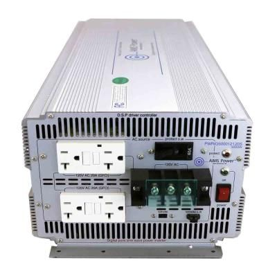 Aims Power 5 000 Watt Pure Sine Industrial Grade Inverter 24 Volt Dc To 120 Volt Ac Industrial Grade Pure Products Ac Industrial