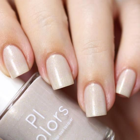 Actinoform.103 Nude Nail Polish with Holographic Glitter