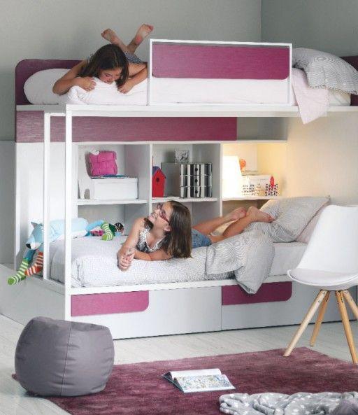 Habitaci n infantil con litera de la colecci n ringo - Habitacion con litera ...