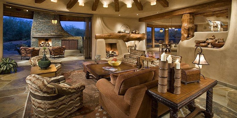 Western Ranch Style Interior Design