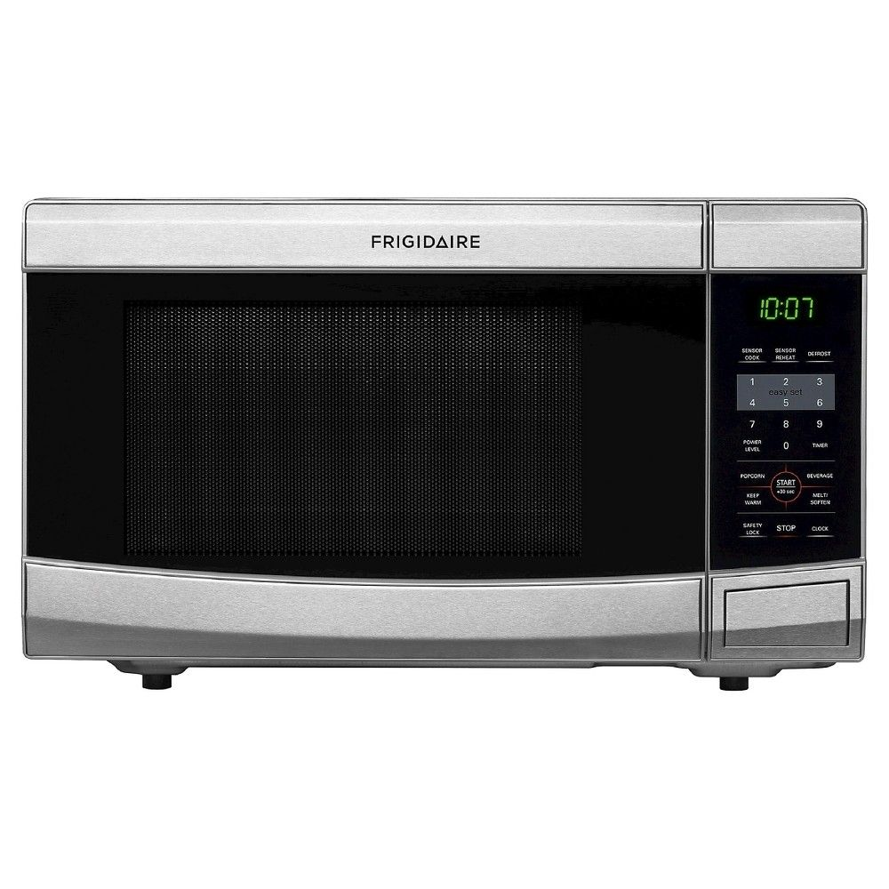 Frigidaire 1 1 Cu Ft 1100 Watt Microwave Oven Stainless Steel Ffcm1134ls Silver Countertop Microwave Oven Countertop Microwave Microwave Oven