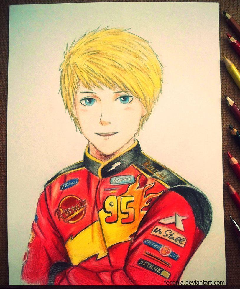 Lightning McQueen by Feognia | feognia.deviantart.com | Pinterest ...
