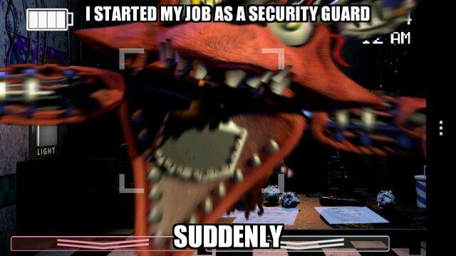Five nights at Freddy`s meme
