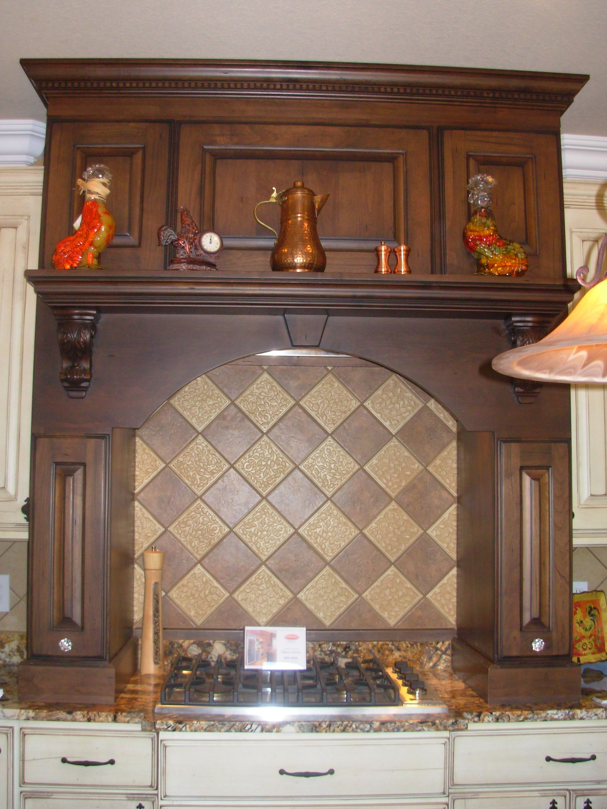 Frank Betz Ingrams Mill, Luxe Homes U0026 Design, Double Mantel, Wood Mantel  Hood, Custom Cupboards Cabinets