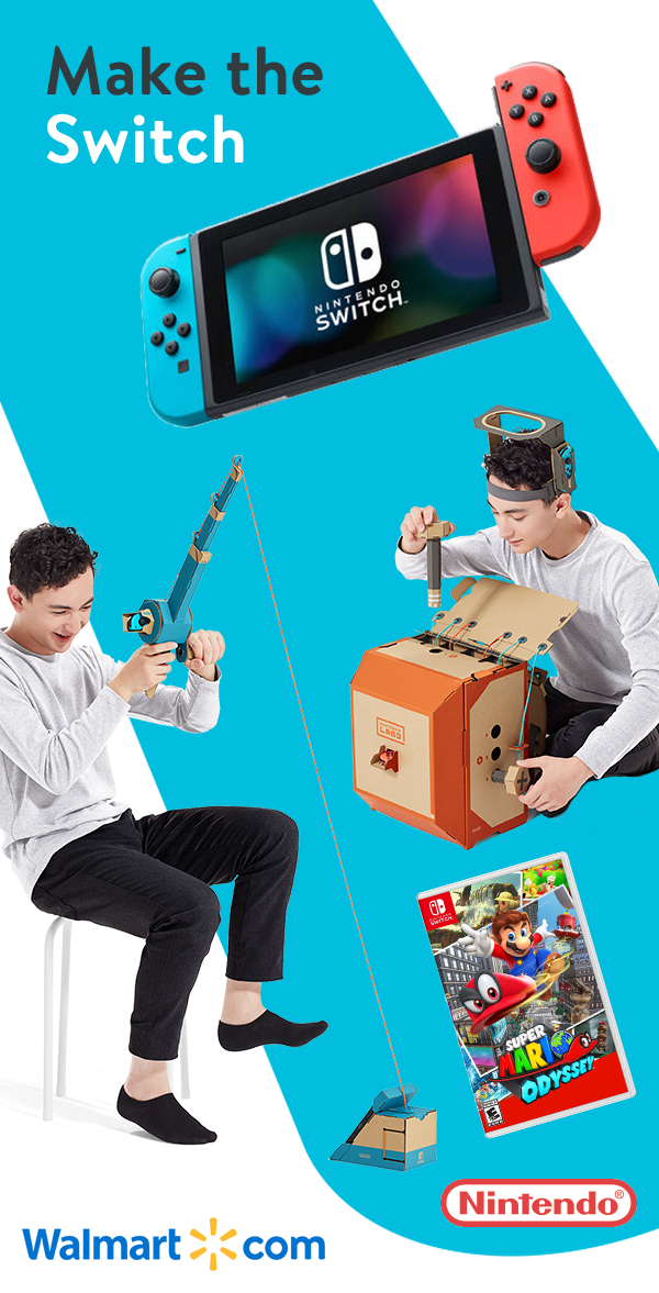 Bring Playtime To Life With All The Latest Nintendo Switch