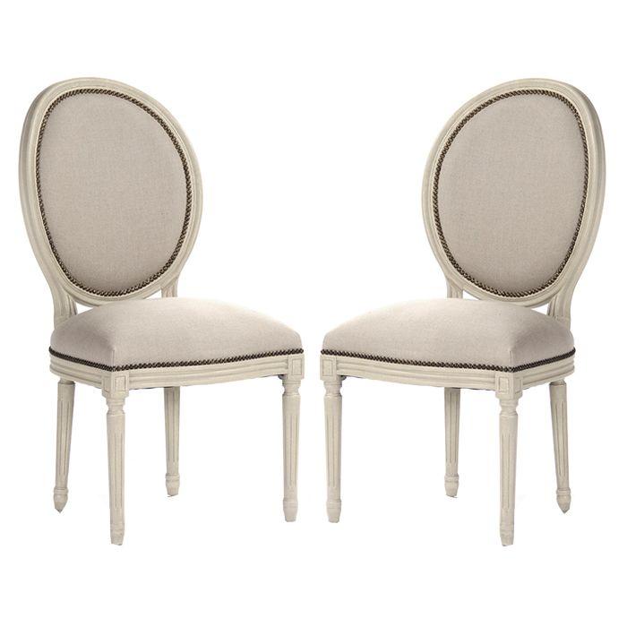 Medallion Side Chairs - Belle Maison  sc 1 st  Pinterest & Medallion Side Chairs - Belle Maison | ??? | Pinterest | Side ...