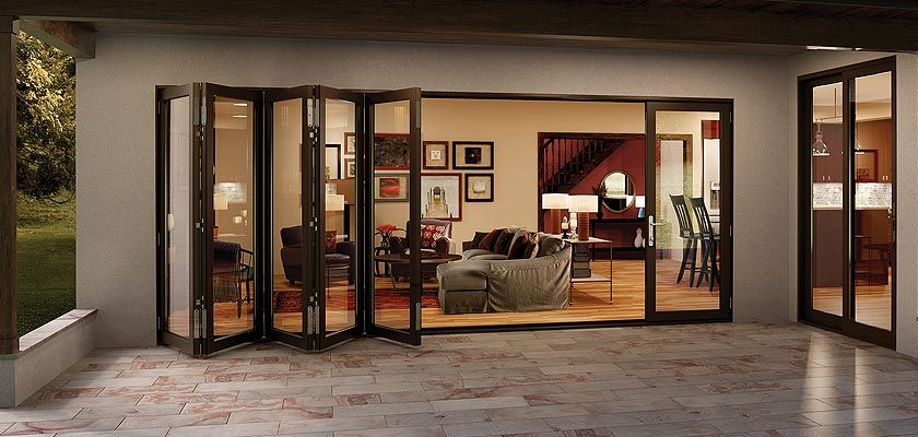 The Folding Sliding Door Company Glass Wall Systems Folding Glass Patio Doors Bifold Patio Doors