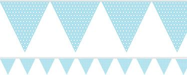 Banderole de Drapeaux Blue Ciel de Party City | http://partycity.eu.com/themes/drapeau_banderole.aspx