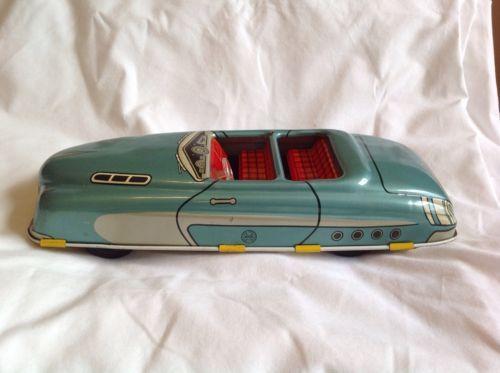 #toys #vintagetoys Vintage Marx Tin Lithogrphed Friction Toy Car