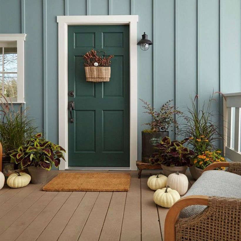 26 Best Color Front Door Ideas For Summer - Avilow.com on Gate Color Ideas  id=40062
