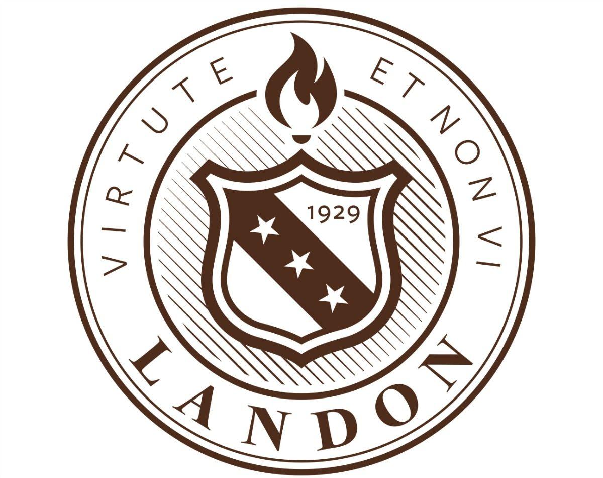 Landon academic seal seal academics logos