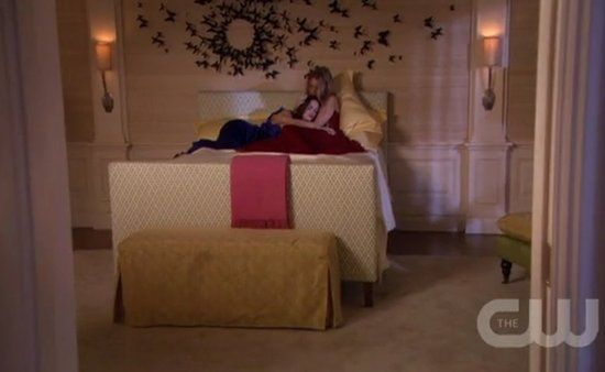 The Black Butterfly Wall In Serenau0027s Bedroom This Season On Gossip Girl Is  Killer!!