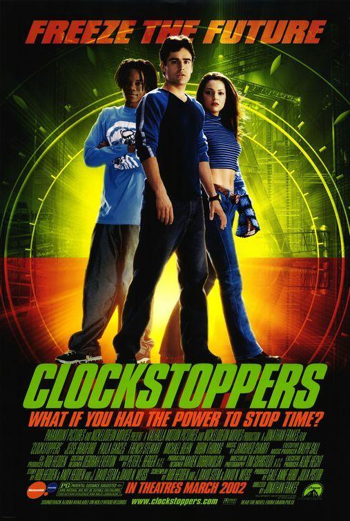 Clockstoppers Movie Poster Adventure Movies Original Movie Posters Movie Posters
