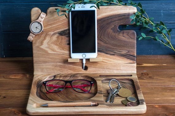 how to connect fitbit to iphone eco wood organizerdocking stationanniversary gift gift 7252