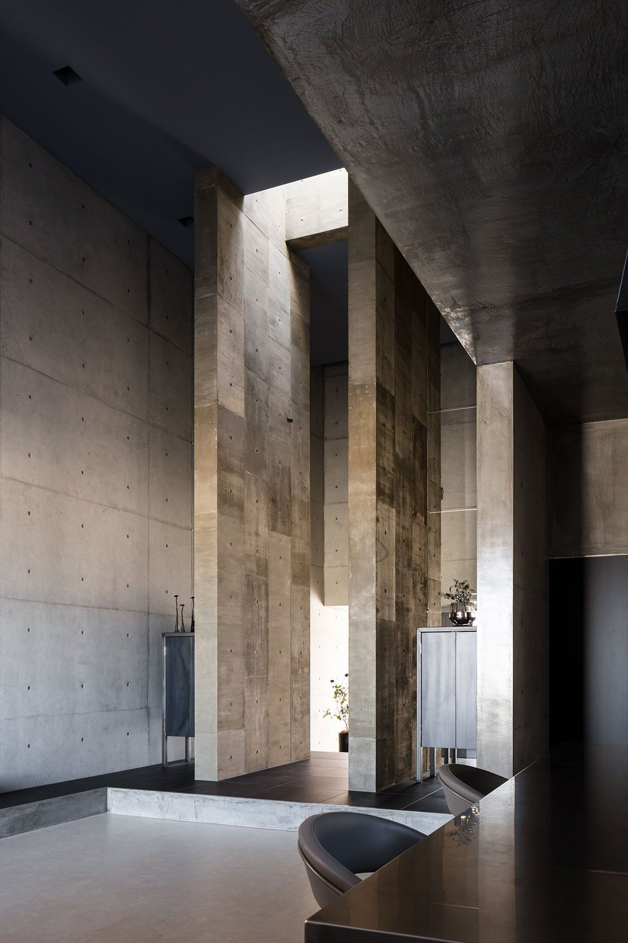 Photo by norihito yamauchi also tranquil house  brutalist tour de force in suburban japan jaw rh pinterest