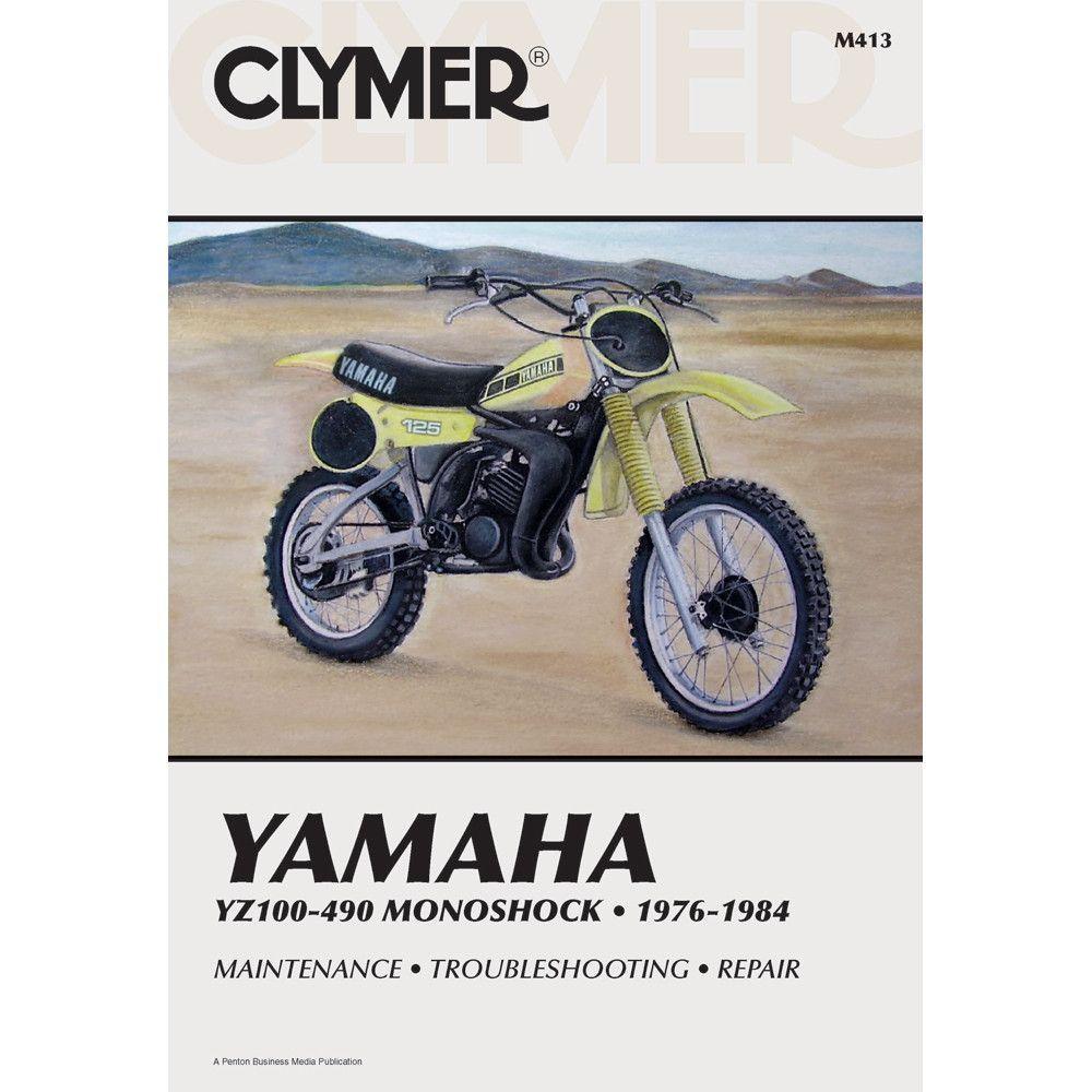 Clymer Yamaha YZ100-490 Monoshock (1976-1984)