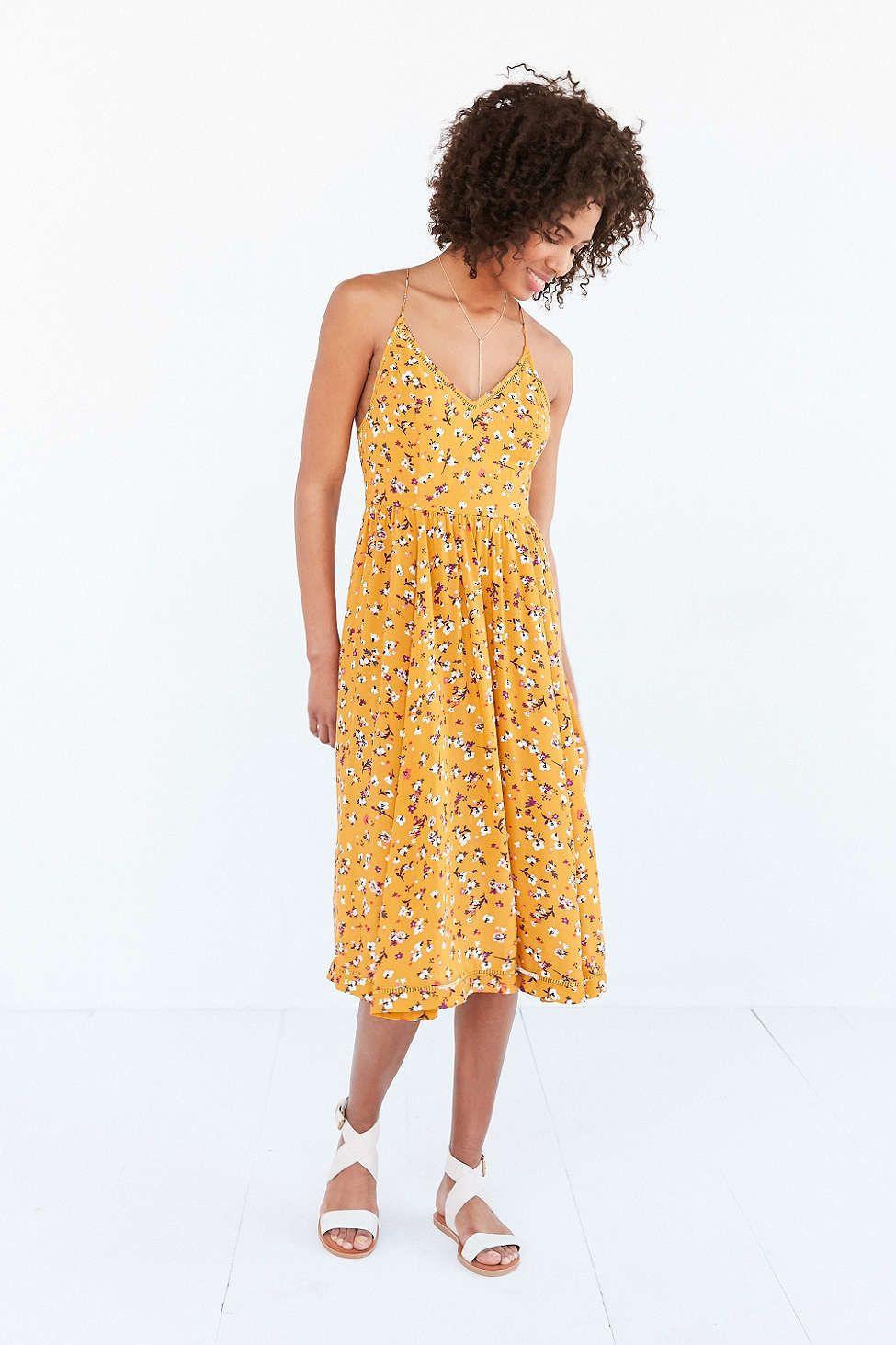 27b3789b6725 Kimchi Blue Cindy Ladder Lace Midi Dress