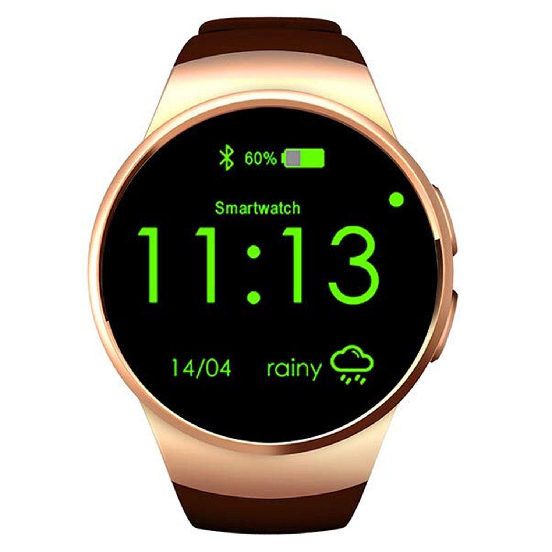 KINGWEAR Smartwatch Fitness Tracker Watch Waterproof