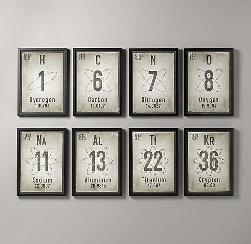 Make Fun Periodic Table Of Elements Art Elementswall Decorkid