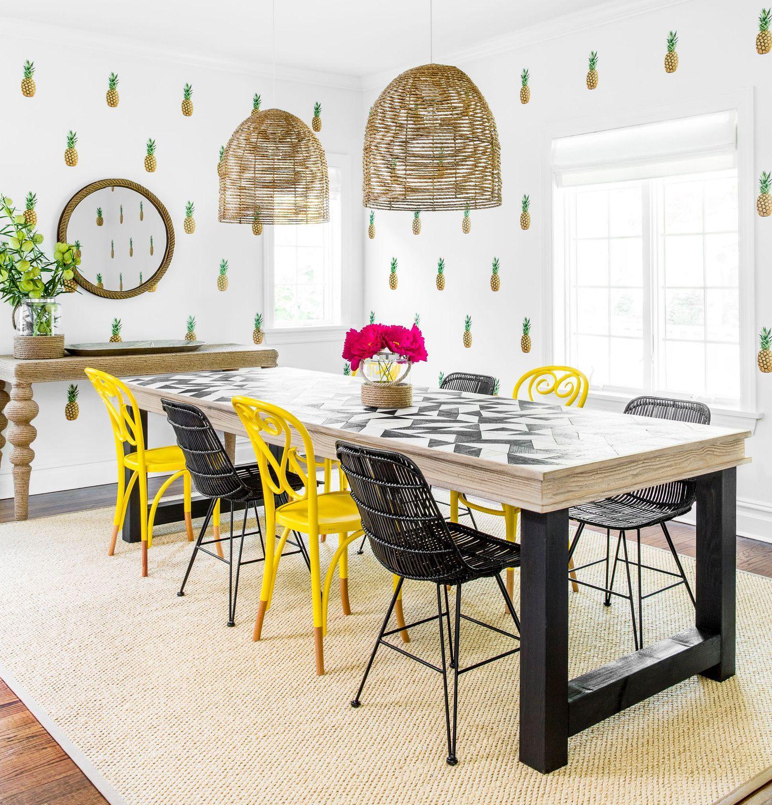 Maison new york avec déco colorée