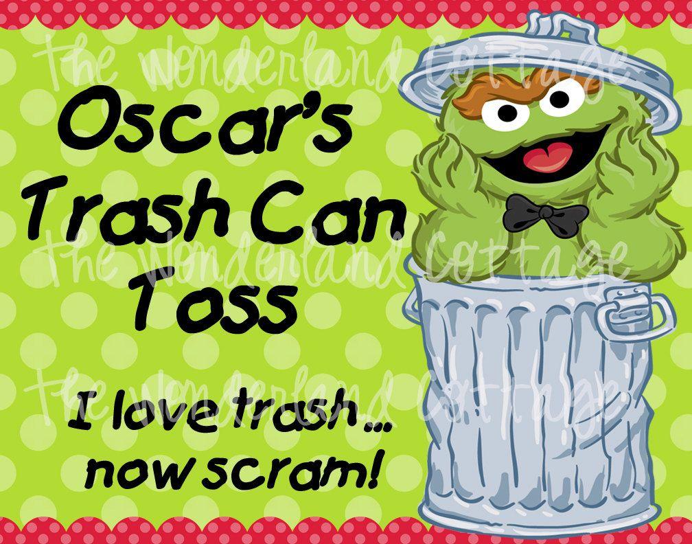 Oscar The Grouch Sign Oscar The Grouch Sesame Street