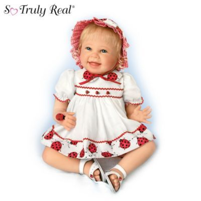 So Truly Real Quot Tiny Tickles Quot Lifelike Baby Doll View