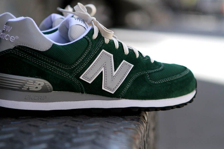 new balance ml574 green
