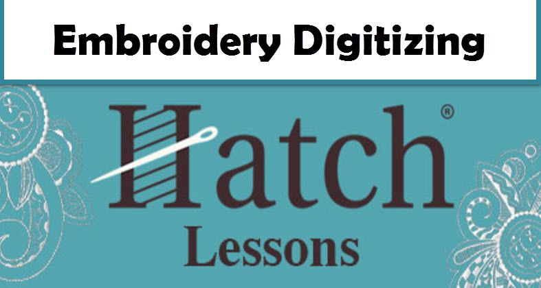 Hatch Embroidery Lessons & Tutorials | Wilcox Hatch | Embroidery