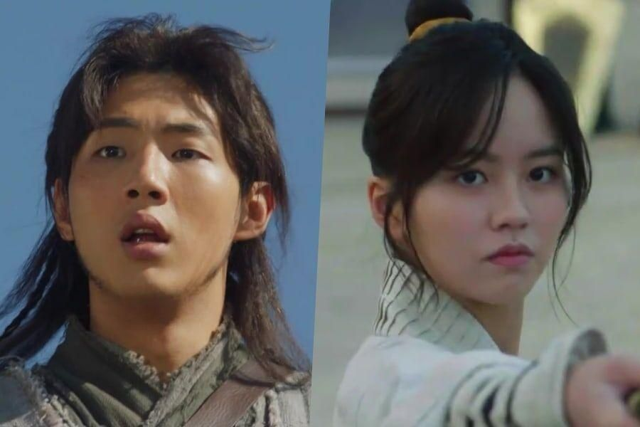 Watch: Ji Soo And Kim So Hyun Prepare For A Fierce Battle In Upcoming Historical Drama