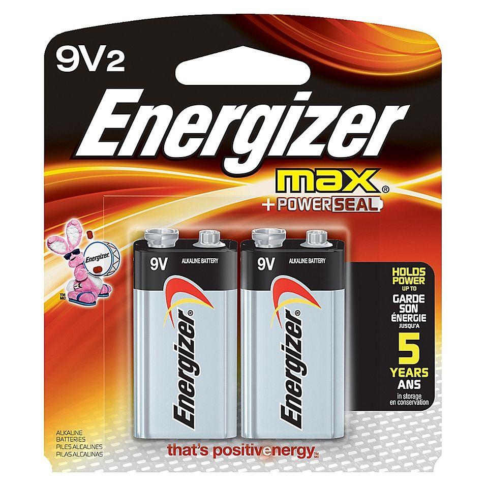 Energizer Max 2 Pack 9 Volt Alkaline Batteries Bed Bath Beyond In 2021 Energizer Alkaline Battery Energizer Battery