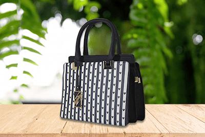 318e8a8595 Bolsa feminina preto elegante ombro e mão preto e branco vv finder na  internet