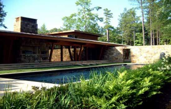 Modern Natural Stone House Photo2 House Designs Exterior Modern Landscaping Stone House