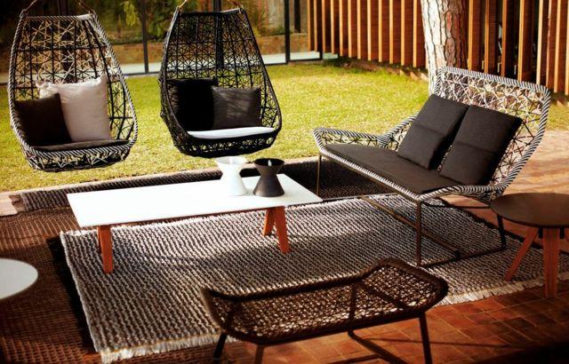 Beau Recevoir Dans Un Salon De Jardin Accueillant Et Esthétique