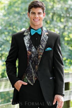 Blue Camo Formal Wear White Camo Tuxedo Vest Camo Wedding