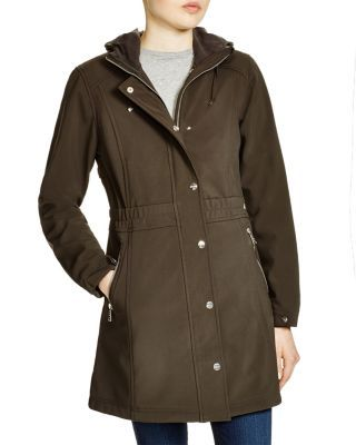 DKNY Lightweight Hooded Coat | Bloomingdale's | CoatJacket
