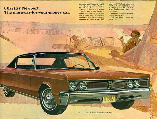 1967 Chrysler Newport 2 Door Hardtop Chrysler Newport