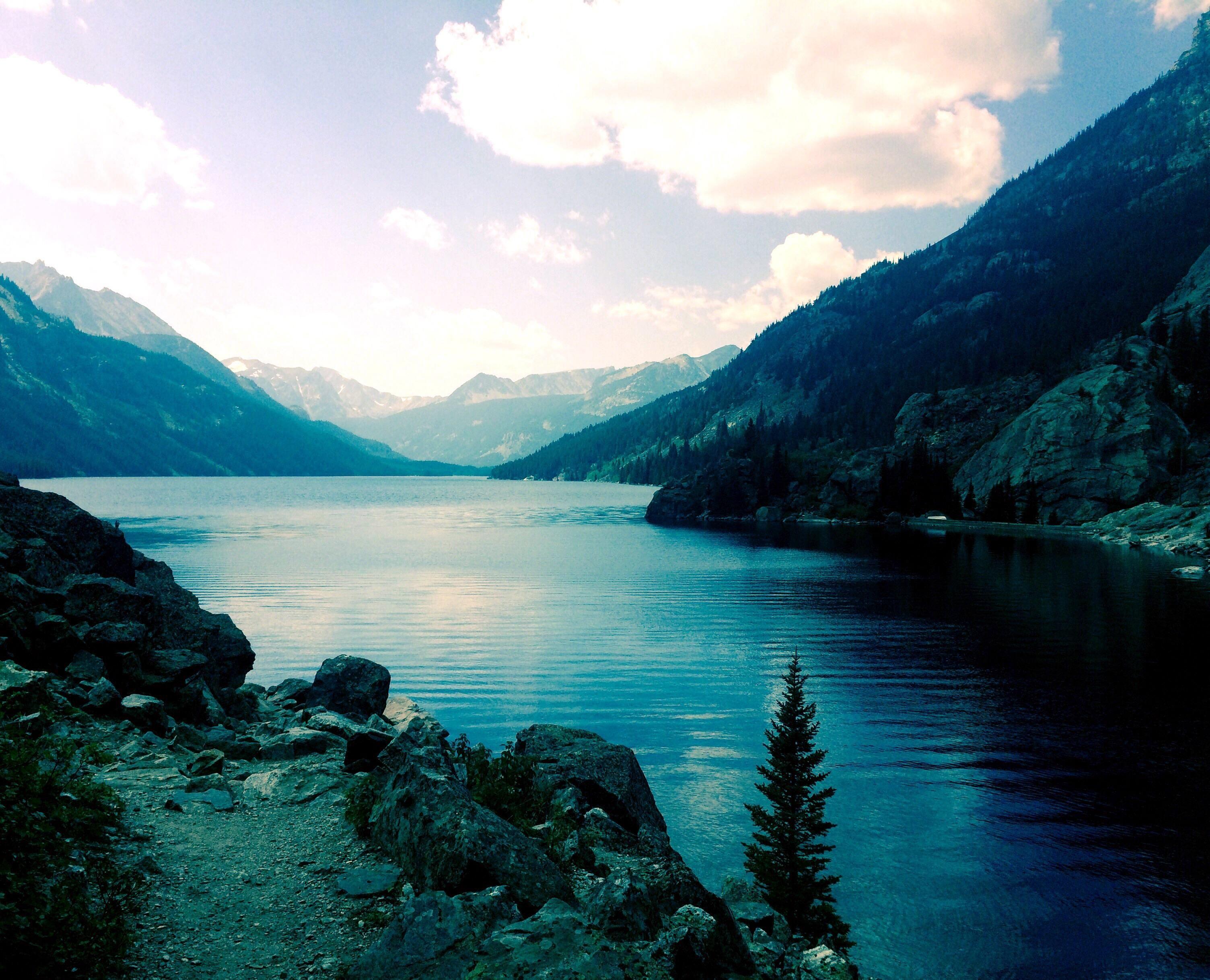 Mystic Lake Near Roscoe Montana Montana Lake Natural Landmarks