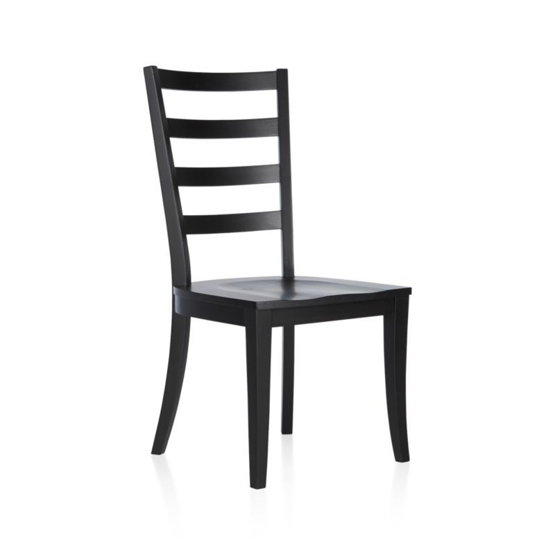 Harper Black Ladder Back Dining Chair Essex