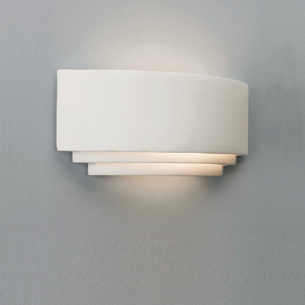 Astro Lighting 0423 Amalfi Art Deco Plaster Ceramic Wall Light ...