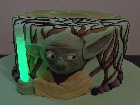 3d cakes....Glow stick element of cake. Brilliant   Star ...