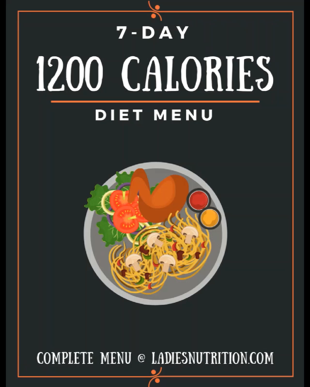 7-Day, 1200 Calorie Meal Plan #300caloriemeals