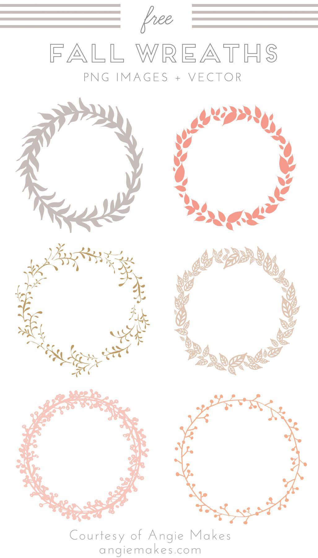 free wreath clip art l