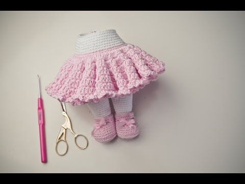 Tutorial Rock Häkeln Amigurumi Youtube Crochet Pinterest