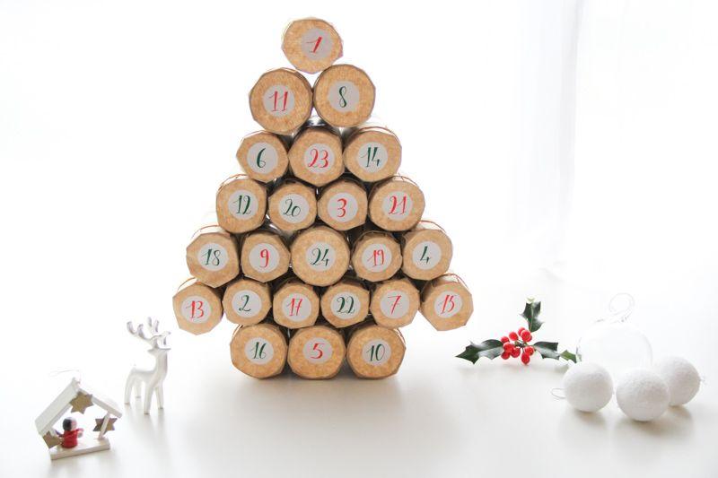 C Est Bientot Noel Calendriers De L Avent Faits Maison